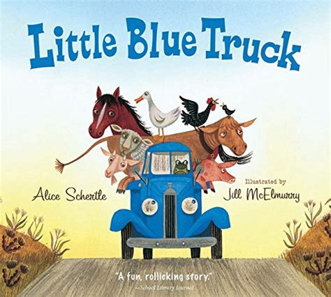 little blue trucks halloween little blue truck abc animal pick up