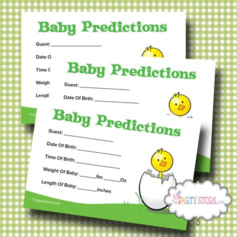 printable games baby shower printable baby shower prediction game baby shower by
