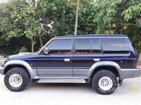 mitsubishi pajero interior 1995 mitsubishi pajero 1995 2 5 in kelantan automatic suv black