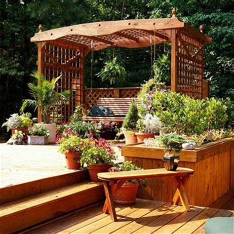 Backyard Structure Ideas 1000 Images About Tub Landscaping Ideas On Tub Deck Home Design And