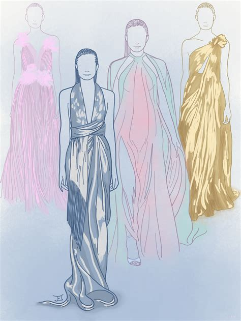 fashion illustration new york fashion week summer