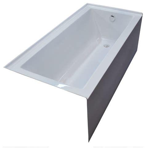 drop in bathtub 60 x 30 pontormo 30 x 60 front skirted drop in bathtub soaker