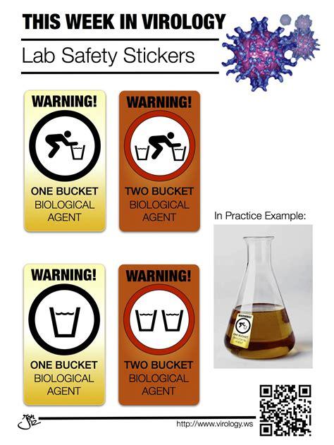 Lab Stickers