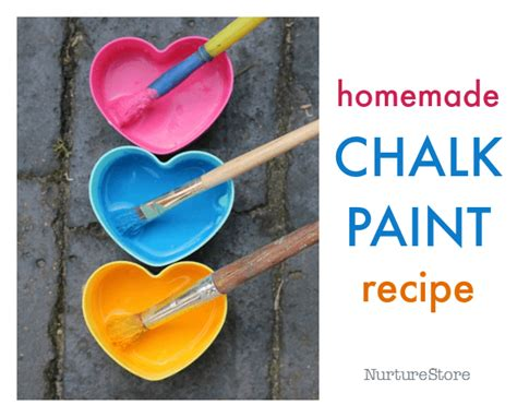Chalk Paint Recipe Nurturestore
