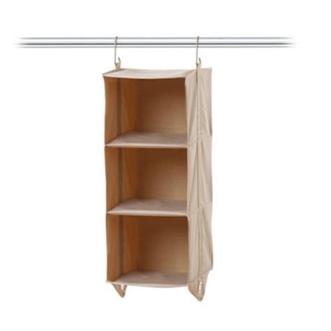 Closet Storage Hanging Shelves by Buy Hanging 6 Shelf Closet Organizer From Bed Bath Beyond