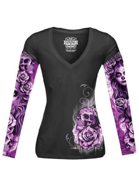 tattoo nightmares wear same clothes womens tees online womens rock t shirts womens skull