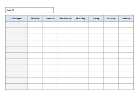free scheduling templates for employee scheduling employee schedule template vnzgames