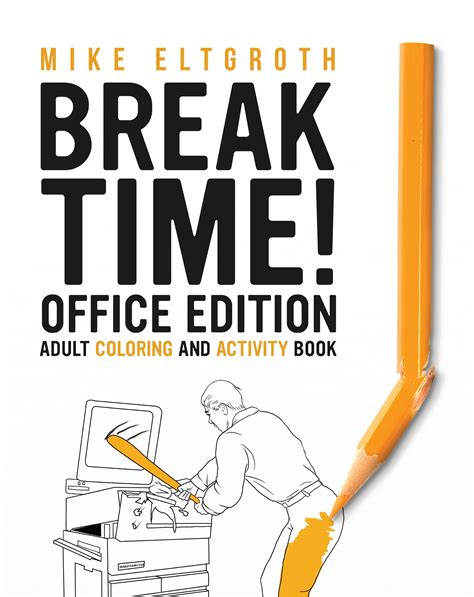 time office edition coloring and activity