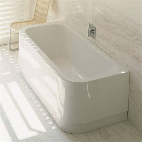 duravit happy d bathtub duravit happy d back to wall bathtub white