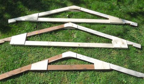 How To Make Trusses For Shed by Building A Backyard Shed