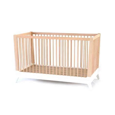 Convertible Crib White Nobodinoz Design Baby White Convertable Crib