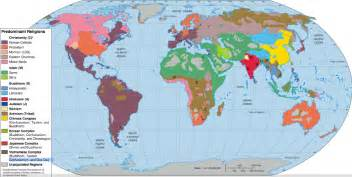 Religion Map Of The World by Pics Photos World Map 5