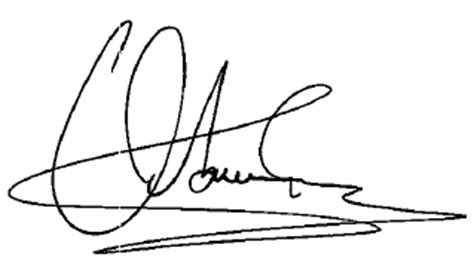 cover letter name signature