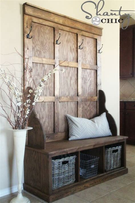 this old house entry bench 27 best rustic entryway decorating ideas and designs for 2017