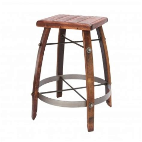 2 Day Designs Stave Stool by Wine Barrel Bar Stools With Wood Tops 2 Day Designs