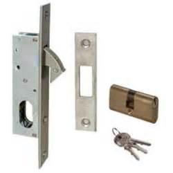 cisa sliding door hook bolt lock with cylinder