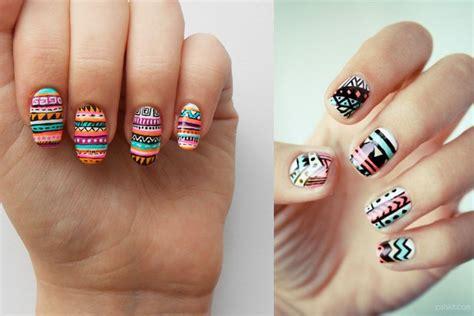 imagenes de uñas decoradas tribal u 241 as tribales 2016
