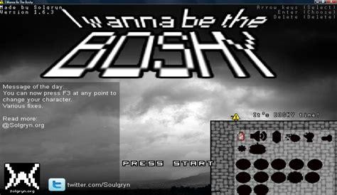 i wanna a in the i wanna be the boshy i wanna be the wiki fandom powered by wikia