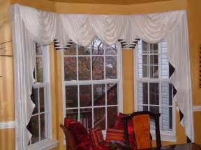 Cascade Drapes Curtain Trend Babble Window Treatments For Bay Windows