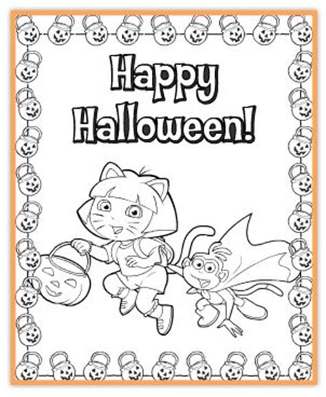 halloween coloring pages nick jr free nick jr halloween printables freebies2deals