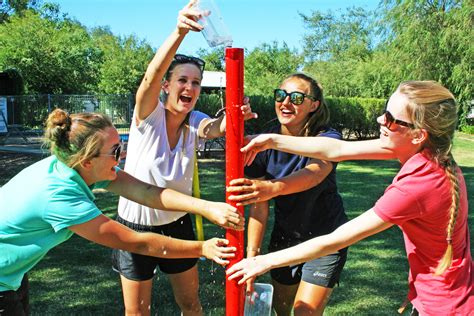 church team building games