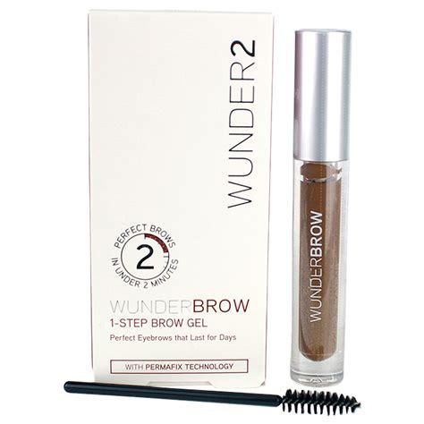 Wunderbrow 1 Step Brow Gel Ready Stock wunder2 wunderbrow 1 step brow gel auburn cosmetics now us