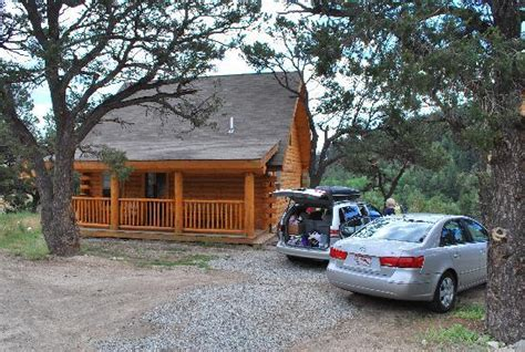 Mount Princeton Cabins by Cabin Front Facing Waterslide Picture Of Mount