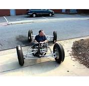 Test Driving The Drop Tank Chassis For First Time