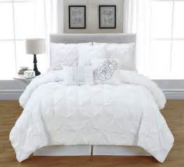 White Bedding Sets White Bed In A Bag Lookup Beforebuying