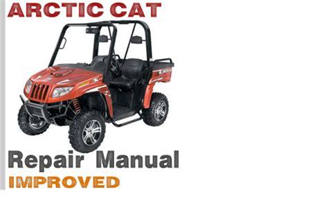 Arctic Cat Prowler 2007 2012 All Models Service Repair