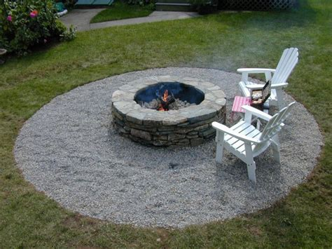 Building A Firepit In Backyard Building A Backyard Pit How Tos Diy
