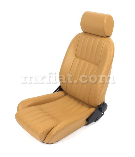 fiat spider leather seat covers fiat 124 spider leather seat set 1979 85 new ebay