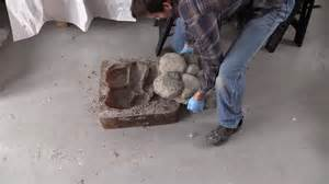 Fire Pit Fountain - how to make concrete rocks for rock walls fire pits walk ways water fountains youtube