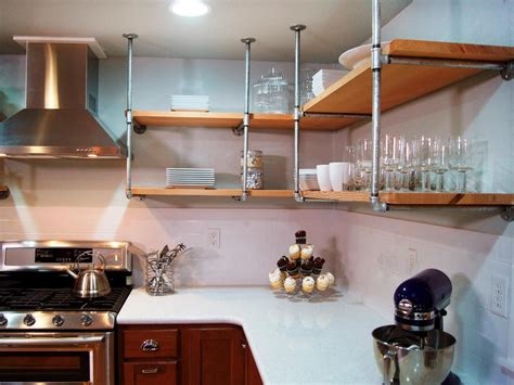 diy kitchen shelving ideas 13 best diy budget kitchen projects diy kitchen design