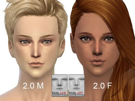 mod the sims sims 4 skins the sims resource bassis skintones 2 0 by s club sims 4