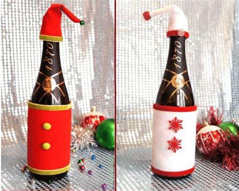 adornos de botella navidad imagenes manualidades para decorar la casa en navidad