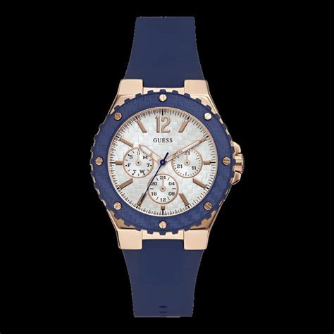 Guess W0289l1 Silver Rosegold Blue 117 best images about locuras de tiempo on