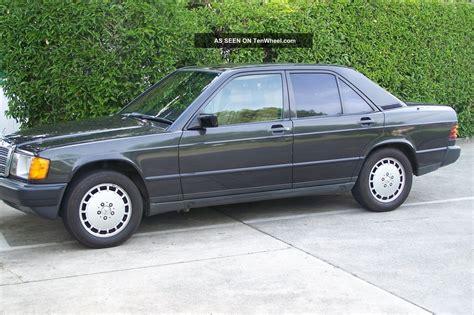 auto air conditioning service 1985 mercedes benz w201 user handbook 1985 mercedes benz 190 e 2 3l w201 auto runs