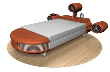 Star Wars Landspeeder Bed And Other News Dave S Geeky Ideas Wars Bed Frame
