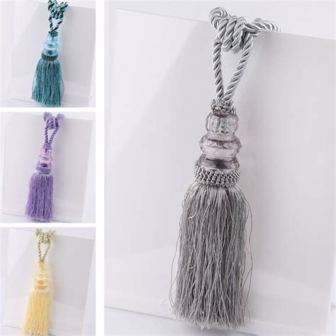 tassel tiebacks for drapes newly curtain tiebacks curtain straps tie backs 1 pair