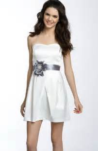White formal dresses for juniors for pinterest