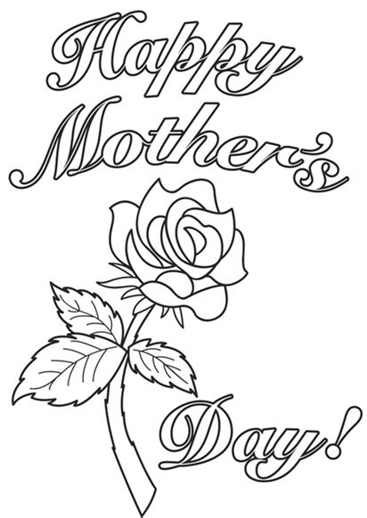 Mothers Day Drawings free printable happy mothers day coloring pages sheets