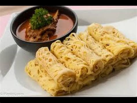 Youtube Membuat Roti Jala | cara membuat roti jala plus kuah kari ayam youtube