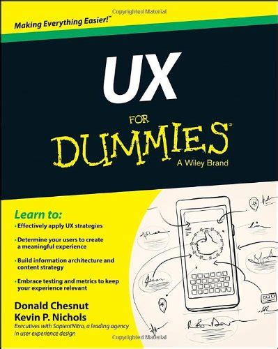content strategist kevin p nichols books ux for dummies