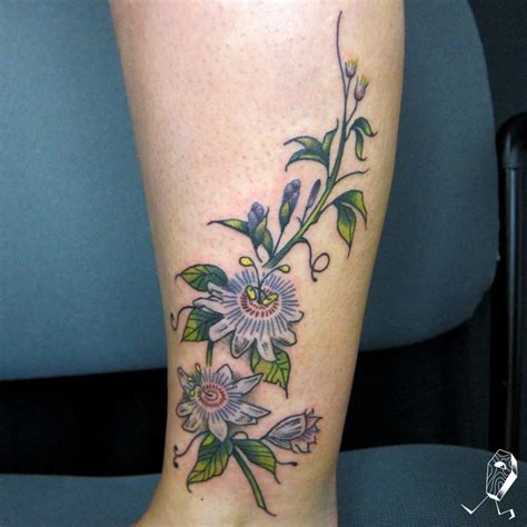 passion tattoo flowers by dedleg tattoonow