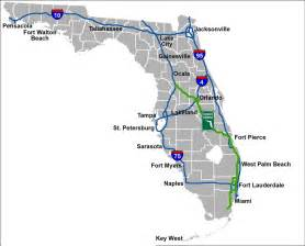 florida toll roads map florida turnpike