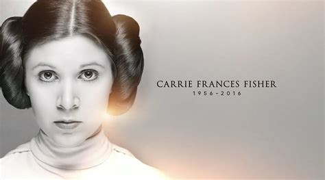 carrie fisher wars celebration unveils touching tribute to carrie fisher heyuguys