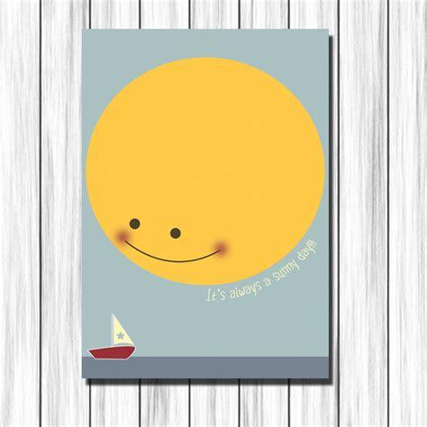 cuadros habitaciones ni os cuadro infantil sol y barca para decoraci 243 n en habitaci 243 n