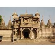 Temple Jainism Ahmedabad Metropolitan Tourism Hub Gujarat India
