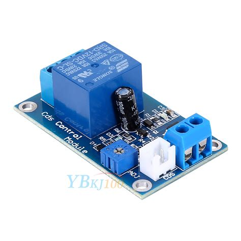 christmas light control module 12v light control switch photoswitch photoresistor relay
